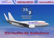 Best and Low Cost Air Ambulance in Kolkata by Falcon Emergency