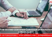 How find certified canadian immigration consultant