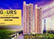 Feel luxurious lifestyle at gaur platinum