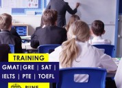 Gre, gmat, sat, toefl, pte, and  ielts coaching