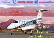 Hire hi-tech air ambulance service in jabalpur