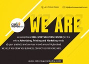 Color waves media-top branding agency in hyderaba