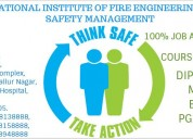 Pg diploma fire and safety course in thanjavur