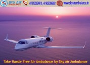Most trusted air ambulance service in ranchi
