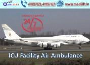 Take amazing air ambulance service in ranchi