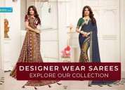 Buy online exclusive designer sarees in surat