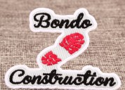 Bondo custom patches
