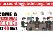 Looking  for accounts training in bangalore
