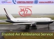 Hire low-fare air ambulance service in mumbai