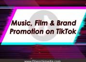 Song  promotion  on  tiktok  india,mumbai,delhi