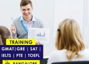 Gre, sat, ielts, toefl, pte, and gmat training