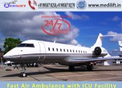 Trusted and fast air ambulance service in bhopal