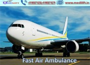 Take country best air ambulance service in lucknow