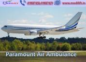 Get life savior air ambulance service in darbhanga