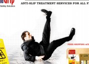 Iguanagrip anti-slip safety solution for floors
