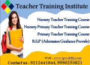 Teacher training course in delhi admission 2019