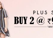 Women's plus size sale on tops, dresses and more