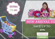 Kids toys & beauty facial kits up to 40% off