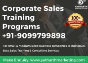 Corporate sales training programs pune - yatharth marketing solutions