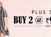 Curvy fashion : plus size tops online india now bu