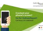 Broken mobile screen repair service at doorstep