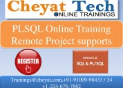 The best oracle plsql online training