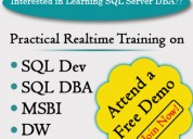 Sql server best online training @ sql school