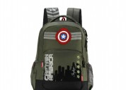 Skybags sb marvel captain america olive green scho