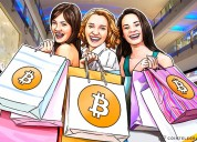 Luxury shopping with bitcoin