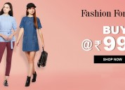 Summer sale - online apparels shopping in india