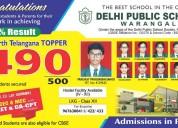best cbse residential school in warangal | delhi public school warangal