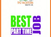 In tourism industry we m/s tfg vacation india pvt.