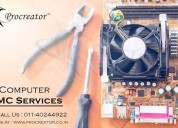 Get computer amc service in delhi to keep your com