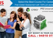 Authorized creo training with 100% job assistance