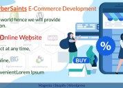 Thecybersaints magento and shopify development com
