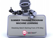 Summer training on machine learning