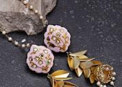 Handmade Bridal Gold jewellery Designs 2018