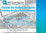 Hire a World Class Guest Post Agency