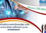 Complete binary mlm software  solution by cyrus te