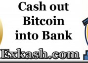 Cashout your cryptocurrency bitcoin to bank accoun