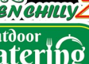 Greenchillyz catering  outdoor catering services