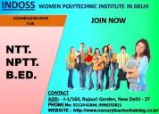 Nptt ntt course in delhi admission open 2019