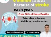 Stroke treatment by dr. vikram bohra neurologist i