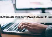 Get affordable third party payroll services in ind