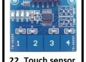 Touch sensor and mechanical engineering project co