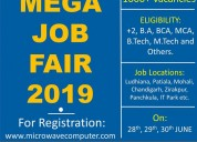 Mega job fair in khanna