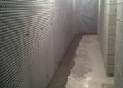 Waterproofing basement wall from inside