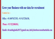 Grow your business with our data for recruitment