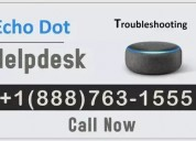 Echo dot customer service ||+1(888)763-1555 number