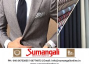 Custom tailored suits, shirts&trousers - sumangali